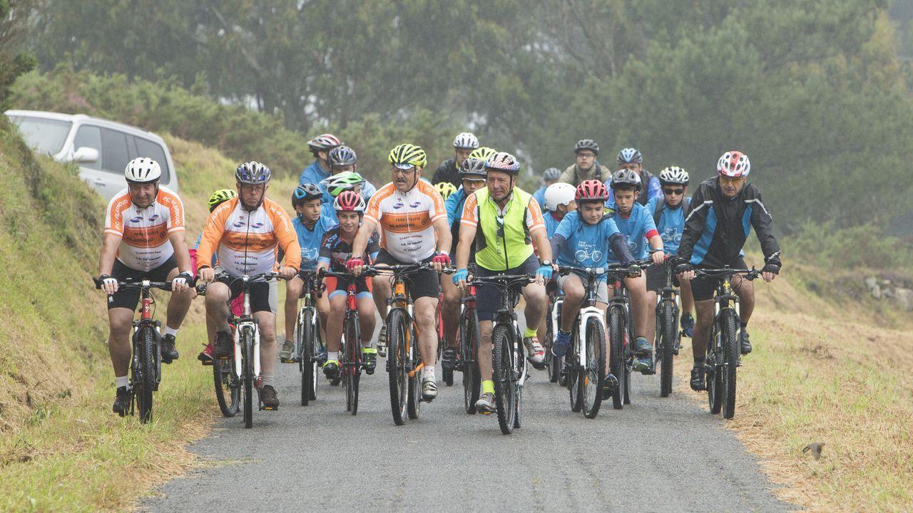 Gran respuesta al Día da Bici en Malpica ¡búscate!