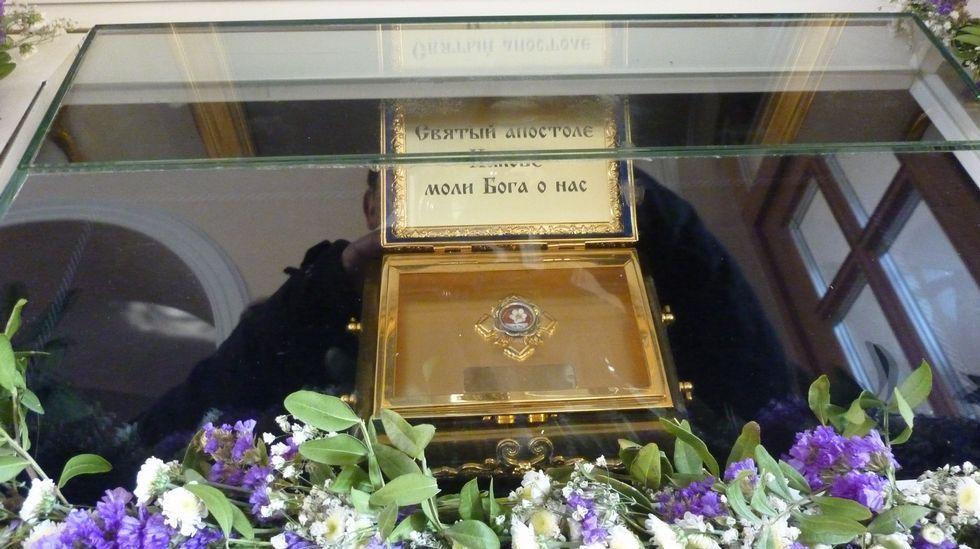 La reliquia salió de Roma, pero no se sabe quién se la dio a Kirill
