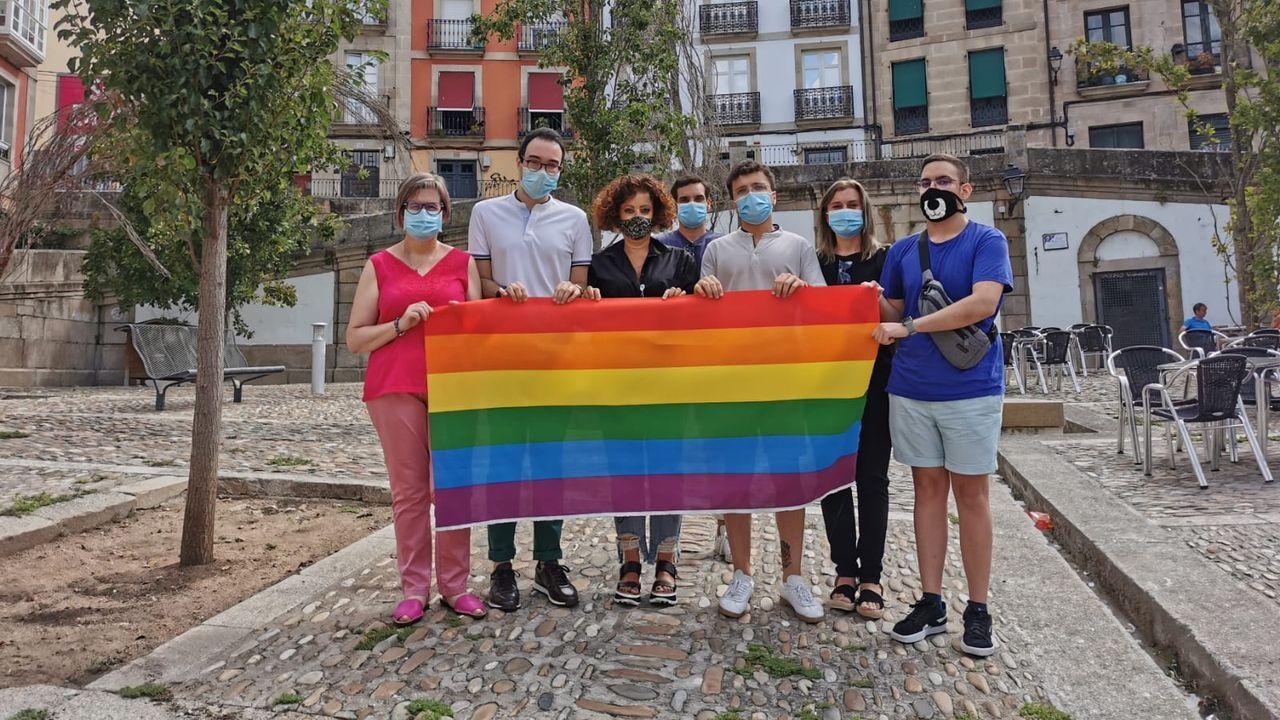 El PSOE propone convertir la plaza de San Marcial en un símbolo para el colectivo LGTBI