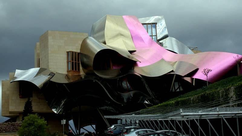 Las creaciones de Frank Gehry.La expedición la integraron setenta vecinos.