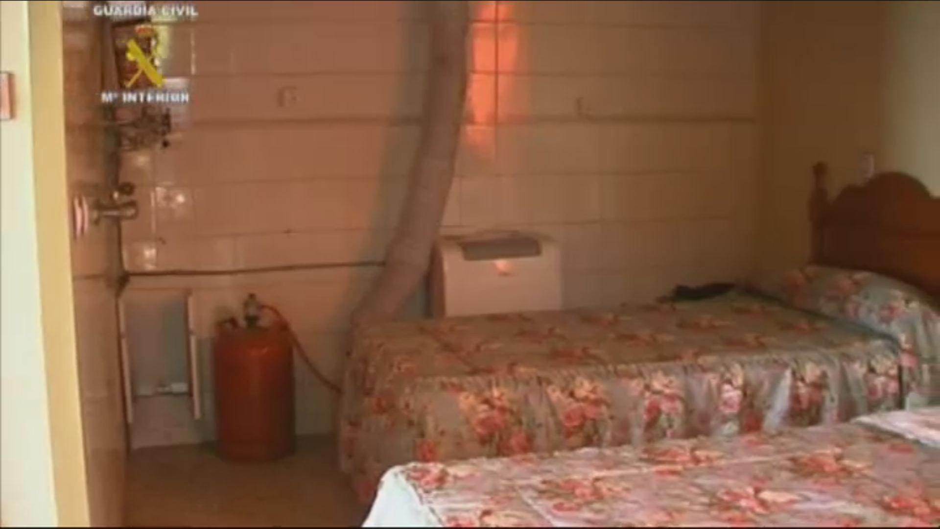 Así era la casa de los horrores de Cádiz