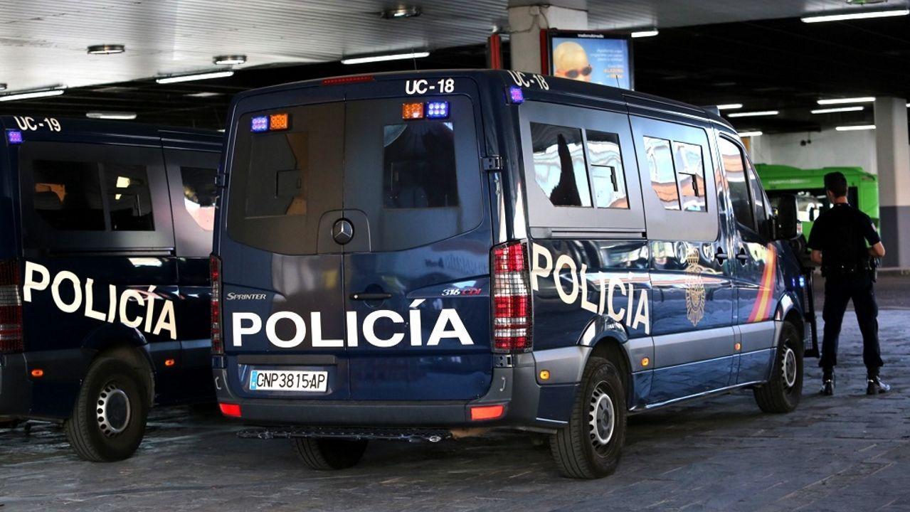 Francisco José Vázquez, jefe de la Unidad Antiterrorista de la Guardia Civil, este lunes, durante la presentación de la operación lanzada por Europol contra la propaganda yihadista