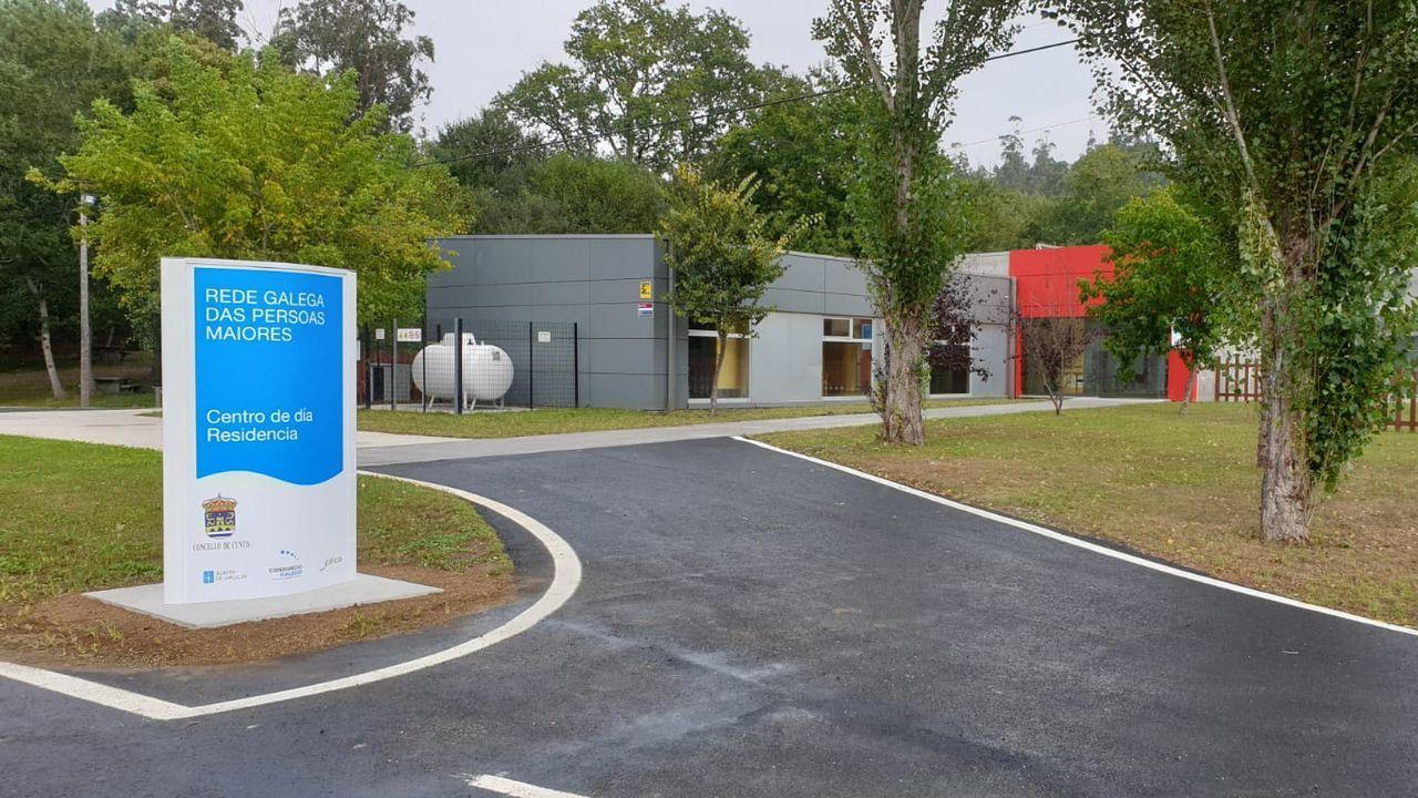 Así es el nuevo centro social de A Piringalla.De los seis finalistas en toda España, cinco son de este centro de la ciudad