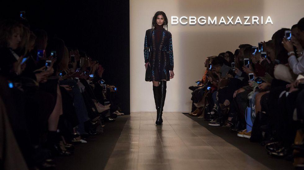Semana de la Moda de Nueva York.Desfile de BCBG Max Azria en la Semana de la Moda de Nueva York