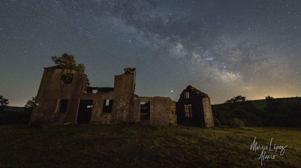 Fotografía nocturna na Serra do Xistral