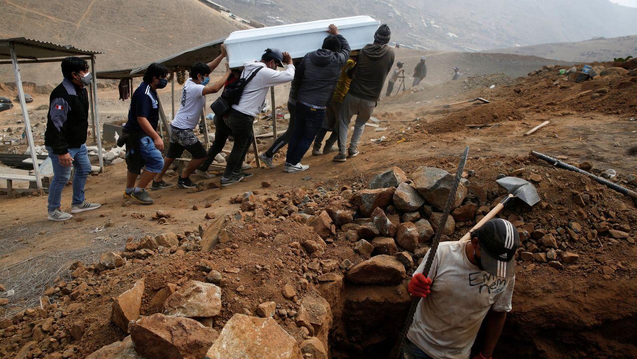 Perú ha superado los 190.000 contagios y acumula más de 5.000 fallecidos