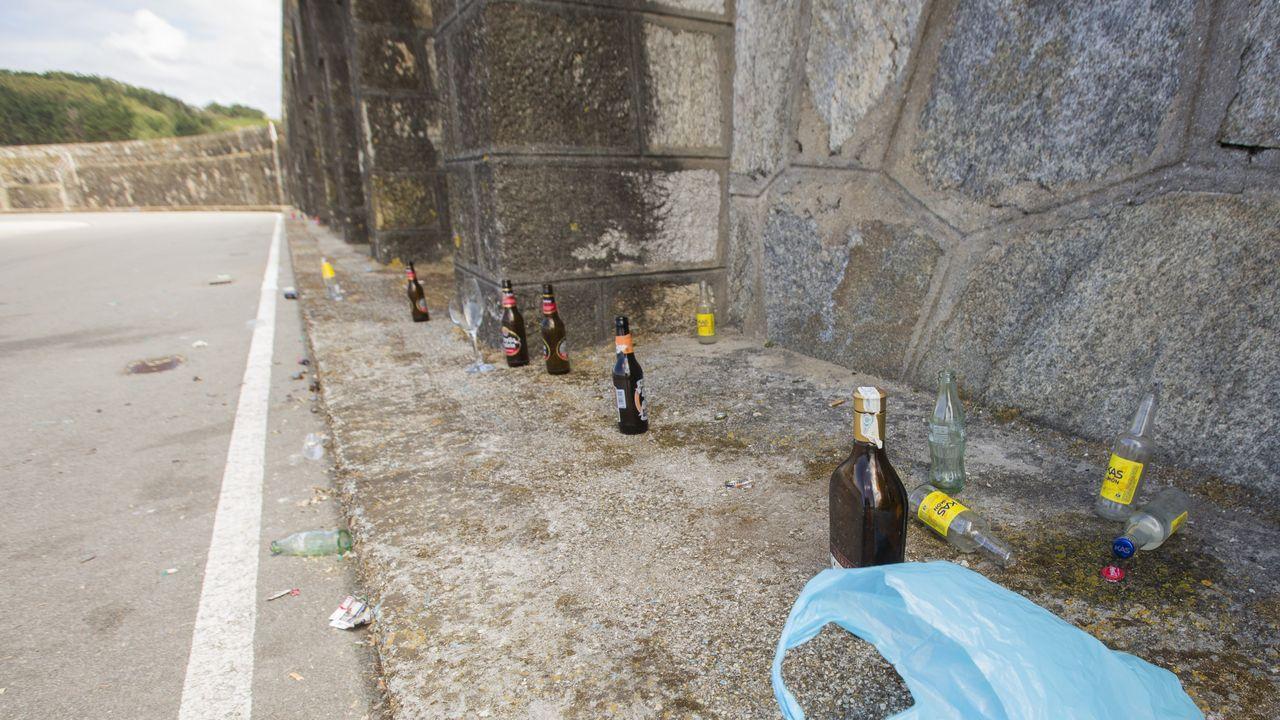 En Señoráns (Salto, Vimianzo), han empezado las obras para la fosa del purín