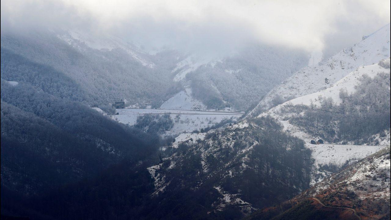 La cordillera nevada