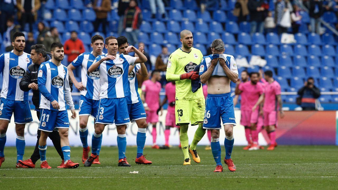 El Deportivo - Levante, en imágenes