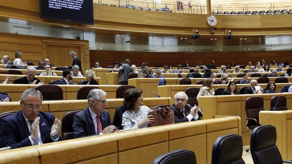 Tinín Areces emplaza al PSdeG a canalizar más las demandas de Galicia a través del Senado.Inundaciones en la Variante de Pajares