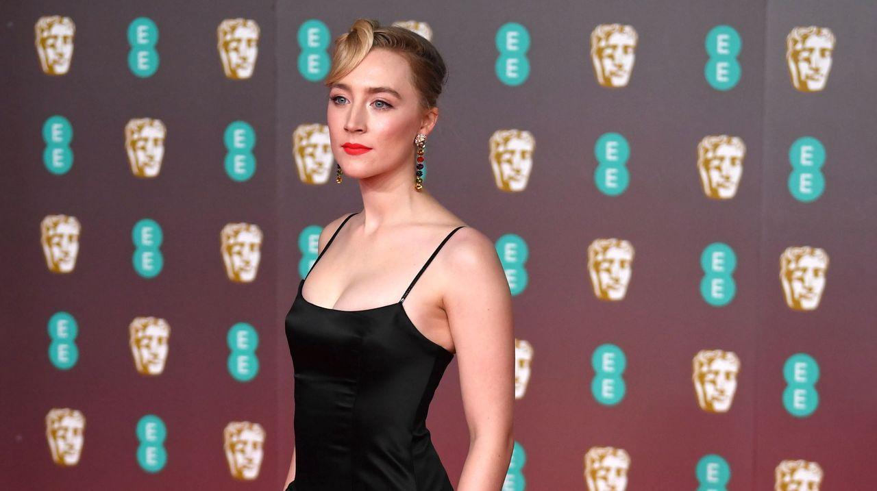 Saoirse Ronan, en la alfombra roja