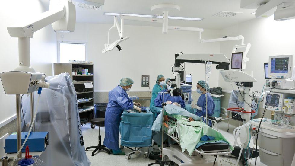 Hospital de Cabueñes, en Gijón.La satisfacción de los gallegos que se ven obligados a pasar por el quirófano es muy elevada al otorgar una nota media de 8,15.