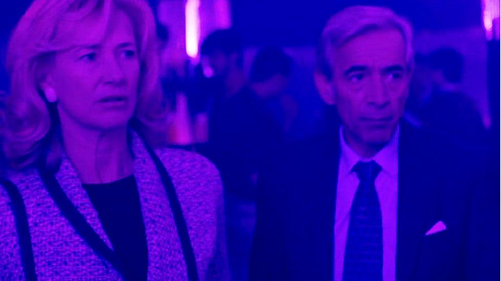 Treinta años del incendio en la discoteca Alcalá 20.Óscar Aibar con Carla Nieto (Nuka) y Ricardo Gómez (Carlos)