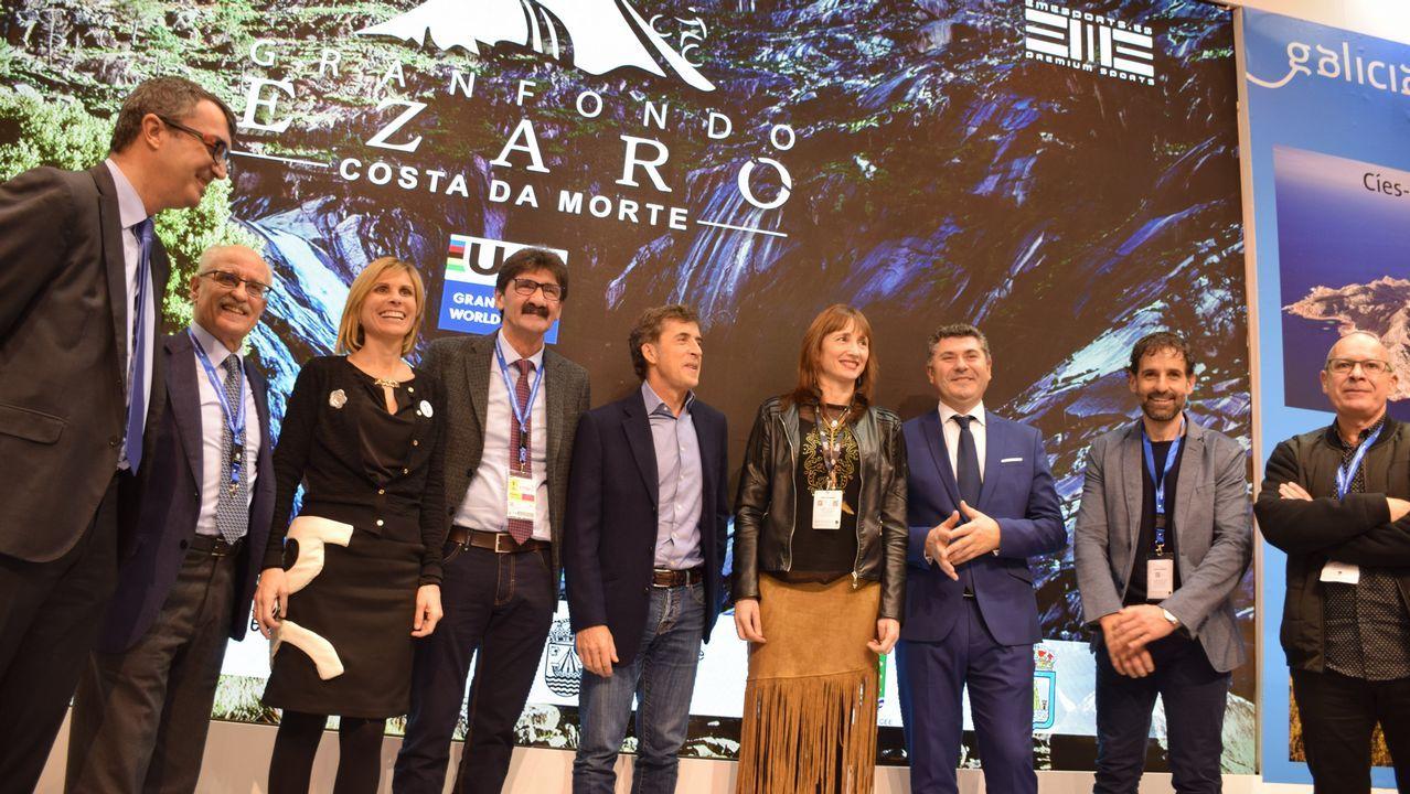 Los premios Feroz, en imágenes.Un momento de la serie «La Zona»