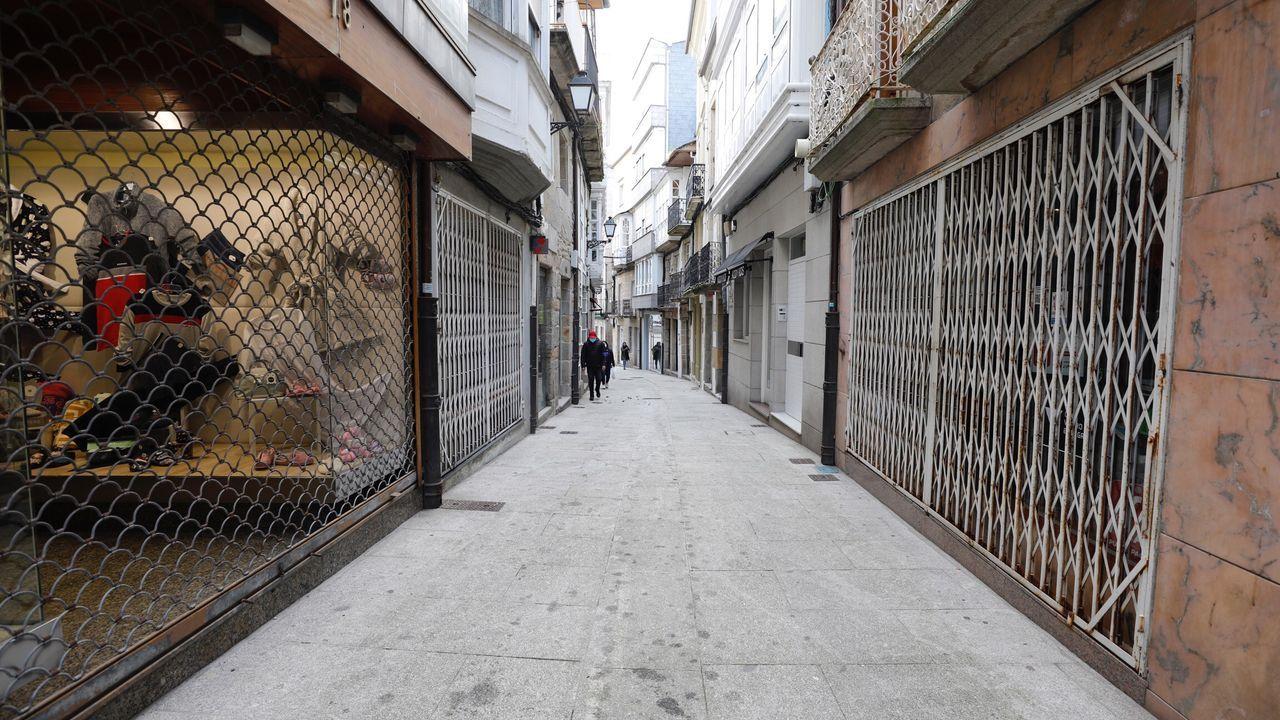 Solo en Viveiro había registrados 298 comercios, 140 locales hosteleros y 19 alojamientos