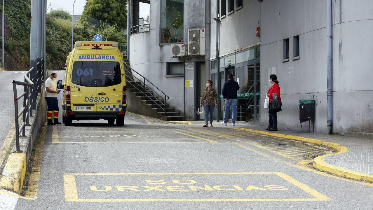 En el Hospital Montecelo de Pontevedra no hay ningún paciente ingresado por covid-19, según el informe oficial