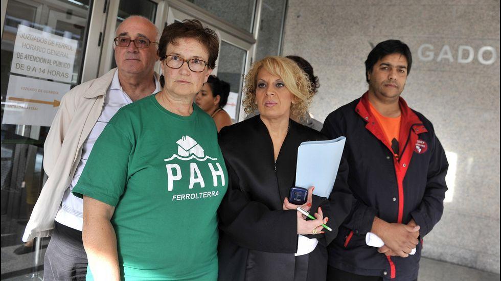 Imagen de archivo de una concentración de la PAH en Ferrol.