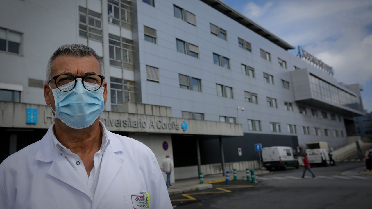 En directo | Sigue el pleno ordinario del Ayuntamiento de A Coruña.Luis Verde, gerente del área sanitaria de A Coruña y Cee