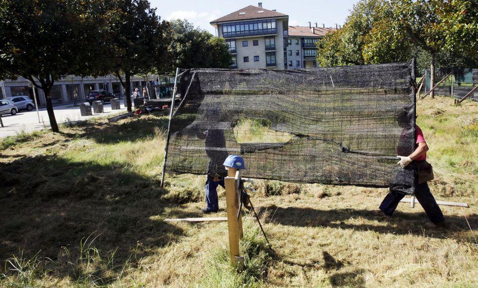 La retirada de las vallas del parque de Galeras paralizó en su día las movilizaciones vecinales.