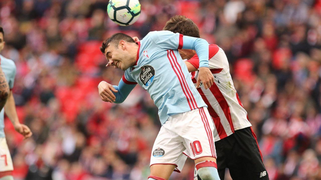 274 - Athletic-Celta (1-1) de Primera el 31 de marzo del 2018
