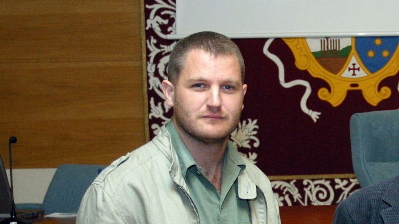 David Beriain, en Santiago en una imagen de archivo