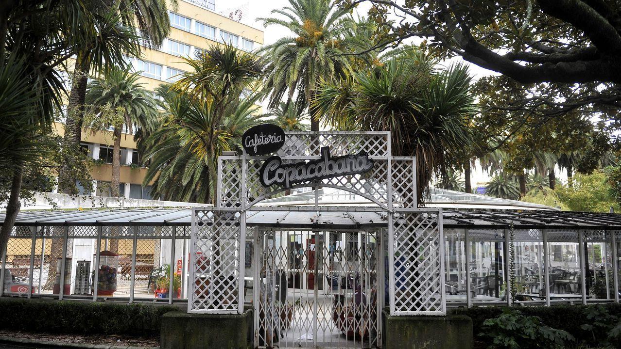 La cafetería Copacabana en octubre del 2019