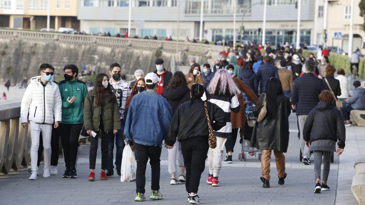 Los paseos se reactivan al cierre de la hostelería