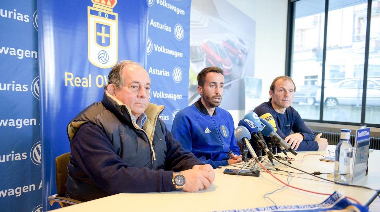 Federico González, Sebas Coris y Francesc Arnau