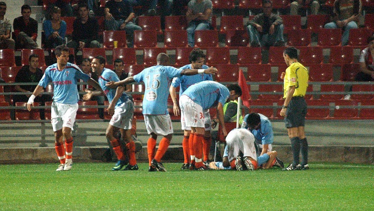 11 - Girona-Celta (1-2) en Copa el 7 de octubre del 2009
