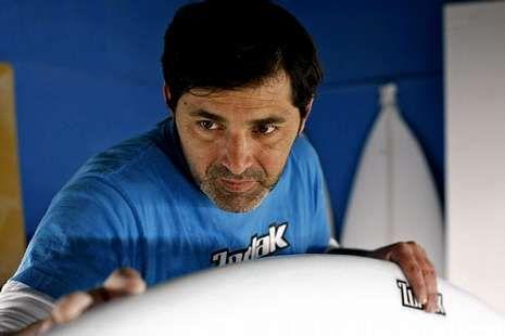 El vigués Gony Zubizarreta será uno de los profesionales que estará en la prueba de A Lanzada entre el 10 y el 13 de abril.
