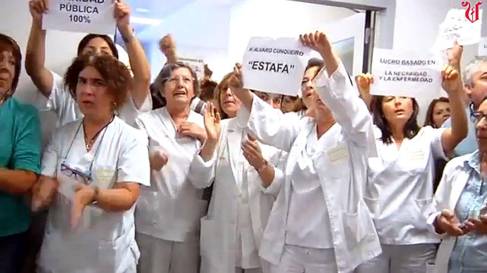 Ourense celebra el día del voluntariado.El pago por aparcar es uno de los temas más polémicos y ha motivado protestas.