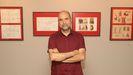 Antonio Navarro participa estos días en el salón del cómic Viñetas desde o Atlántico