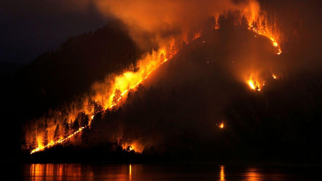Los incendios en Siberia preocupan a la población de Rusia