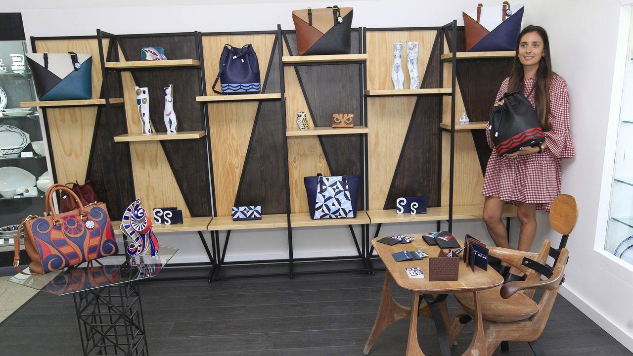 Sargadelos ya vende su colección de piel y lanzará una línea de muebles