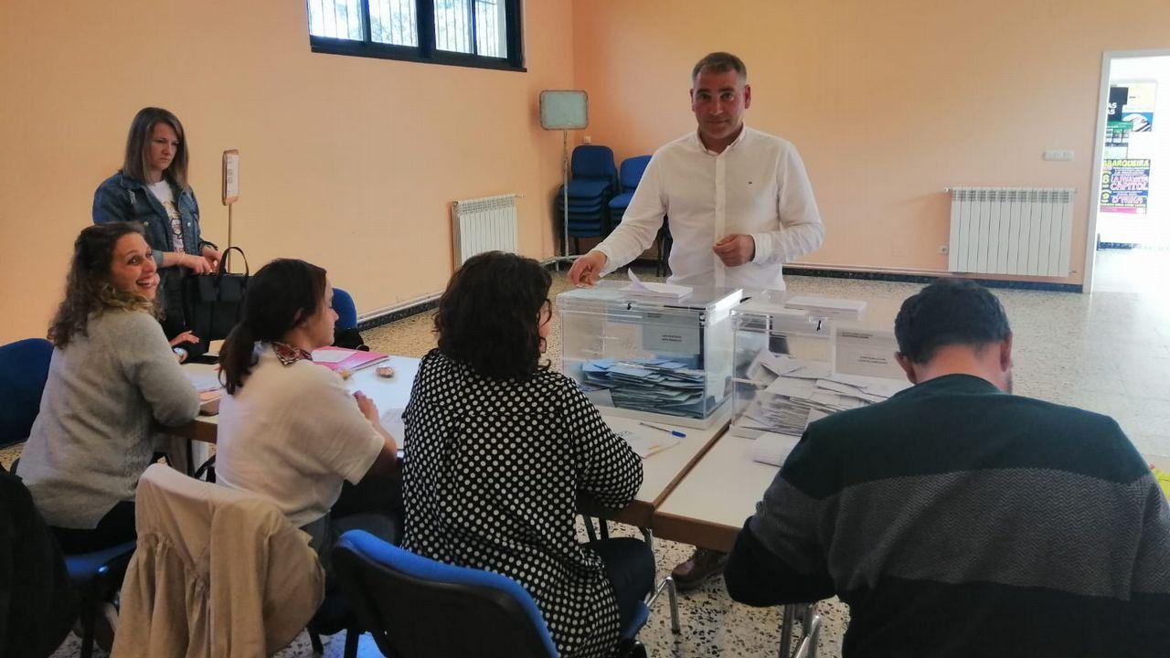 Benigno Galego, alcalde y candidato PSOE Cerdido