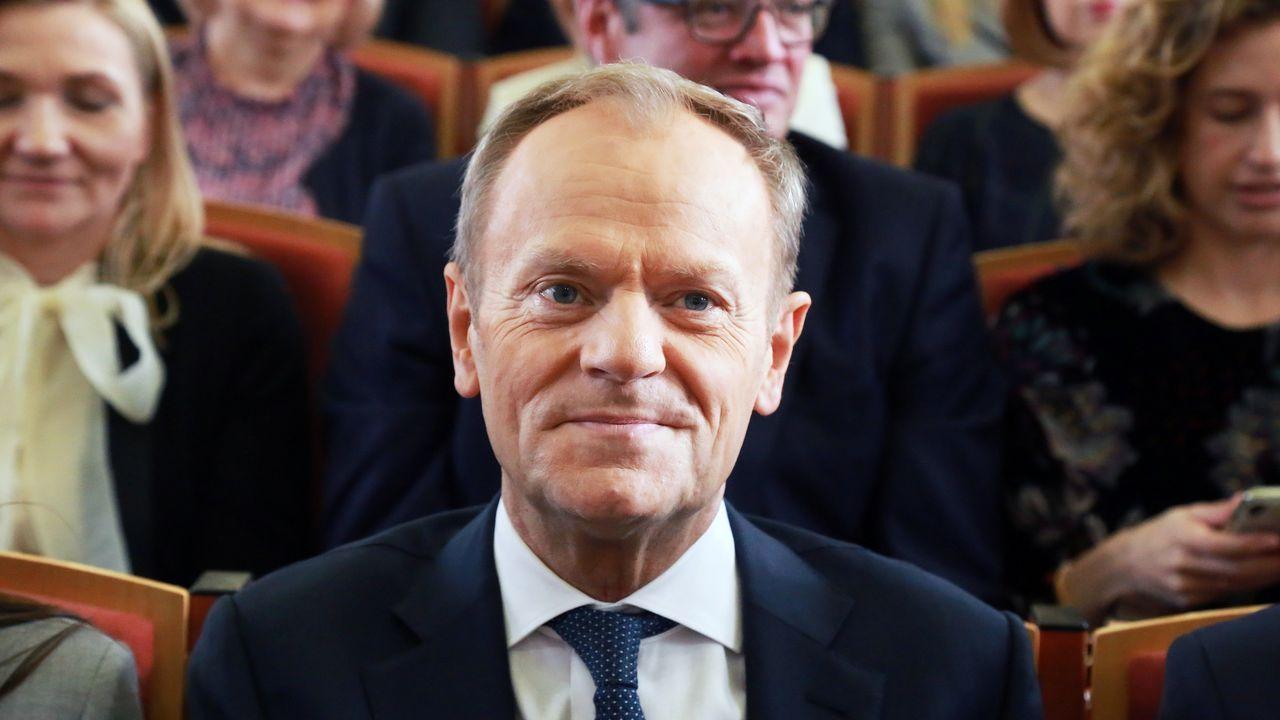 Donald Tusk, antiguo primer ministro de Polonia y actual presidente del Partido Popular Europeo (PPE)