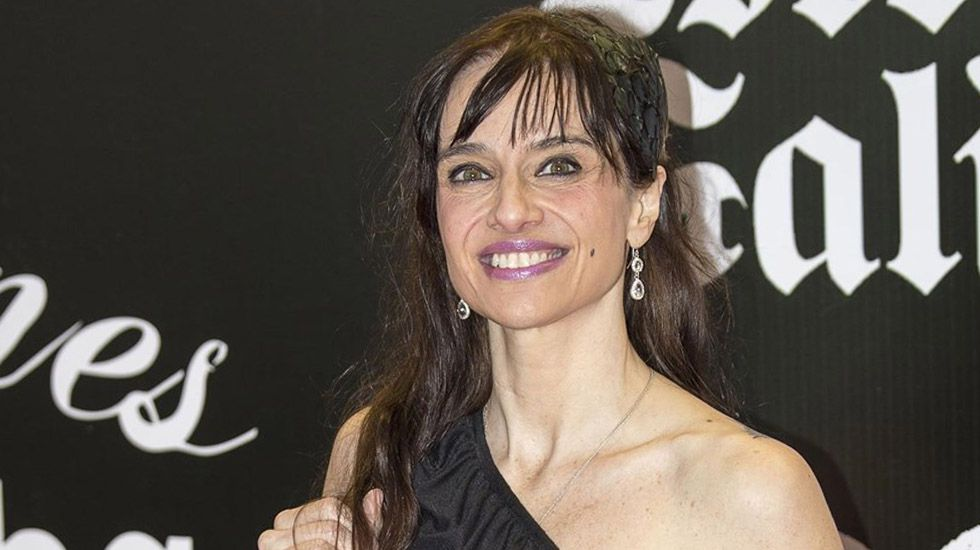 La actriz avilesina Beatriz Rico
