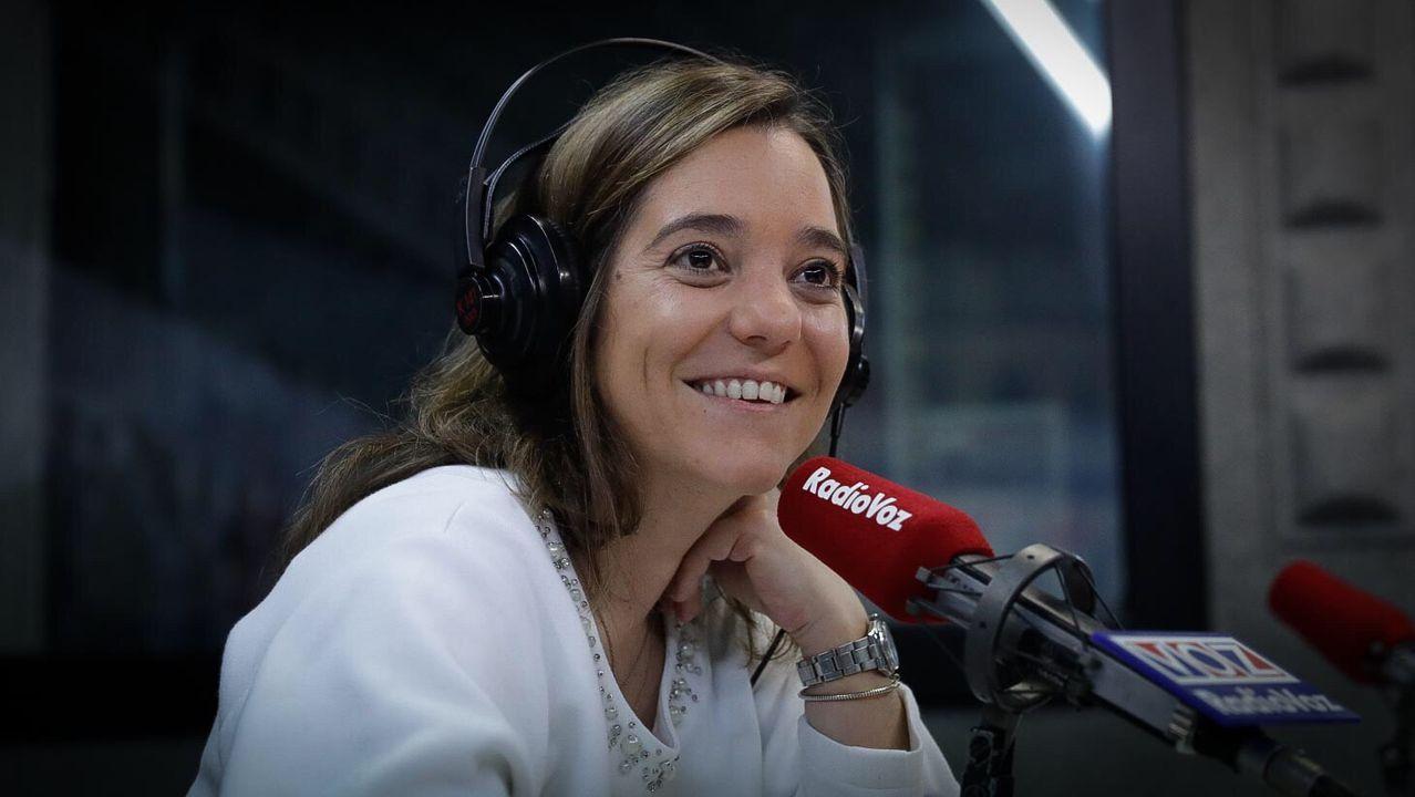 herminia.Inés Rey en Radio Voz.