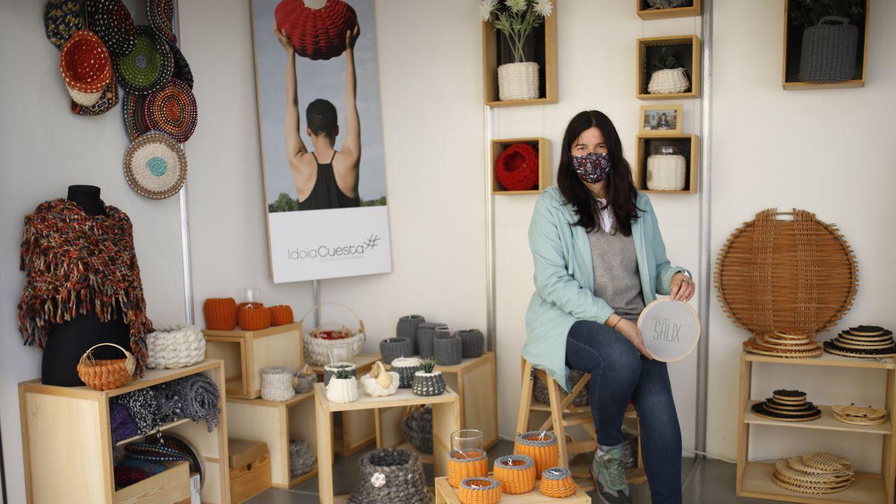 Idoia Cuesta, Premio Nacional de Artesanía, presenta su nueva coleccion, Salix
