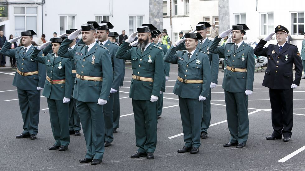 La Guardia Civil rinde homenaje a su patrona