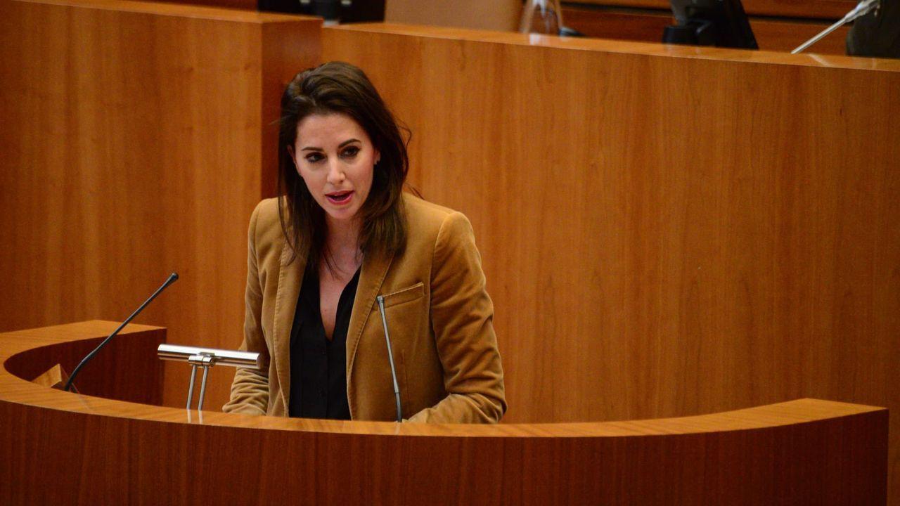 La procuradora de Ciudadanos por Salamanca María Montero
