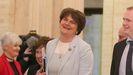 Arlene Foster, del Partido Democrático Unionista (DUP), ha recuperado su posición como ministra principal de Irlanda del Norte
