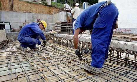 El número de demandantes en la construcción descendió en 138 profesionales en noviembre.