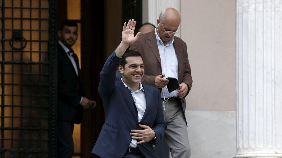 Rajoy Passos Coelho en Baiona