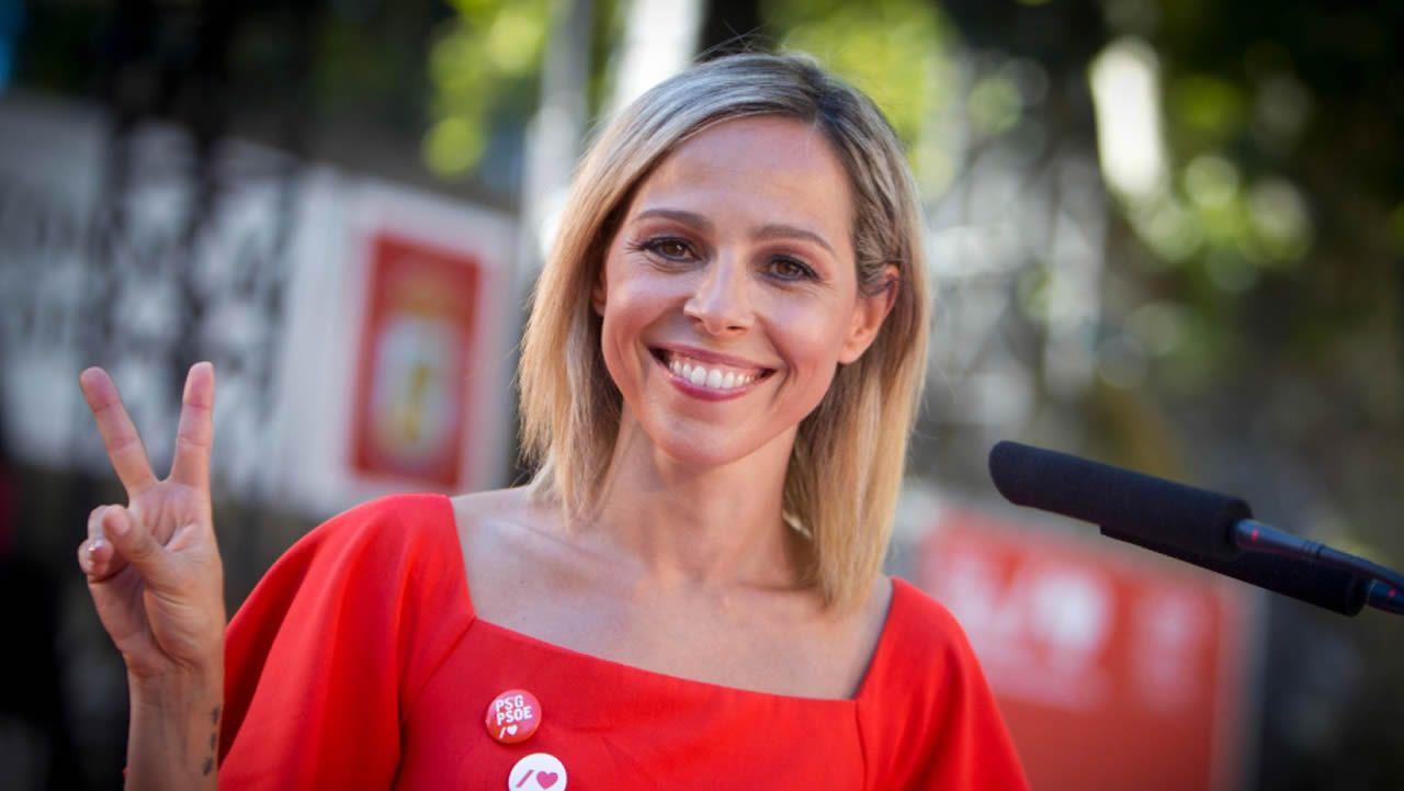 Noelia Otero Lago, número 6 del PSOE por la provincia de Pontevedra. Nacida en Vigo, es licenciada en periodismo.