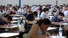 Profesores opositando a plazas de Educación Infantil en Ourense en junio del 2019