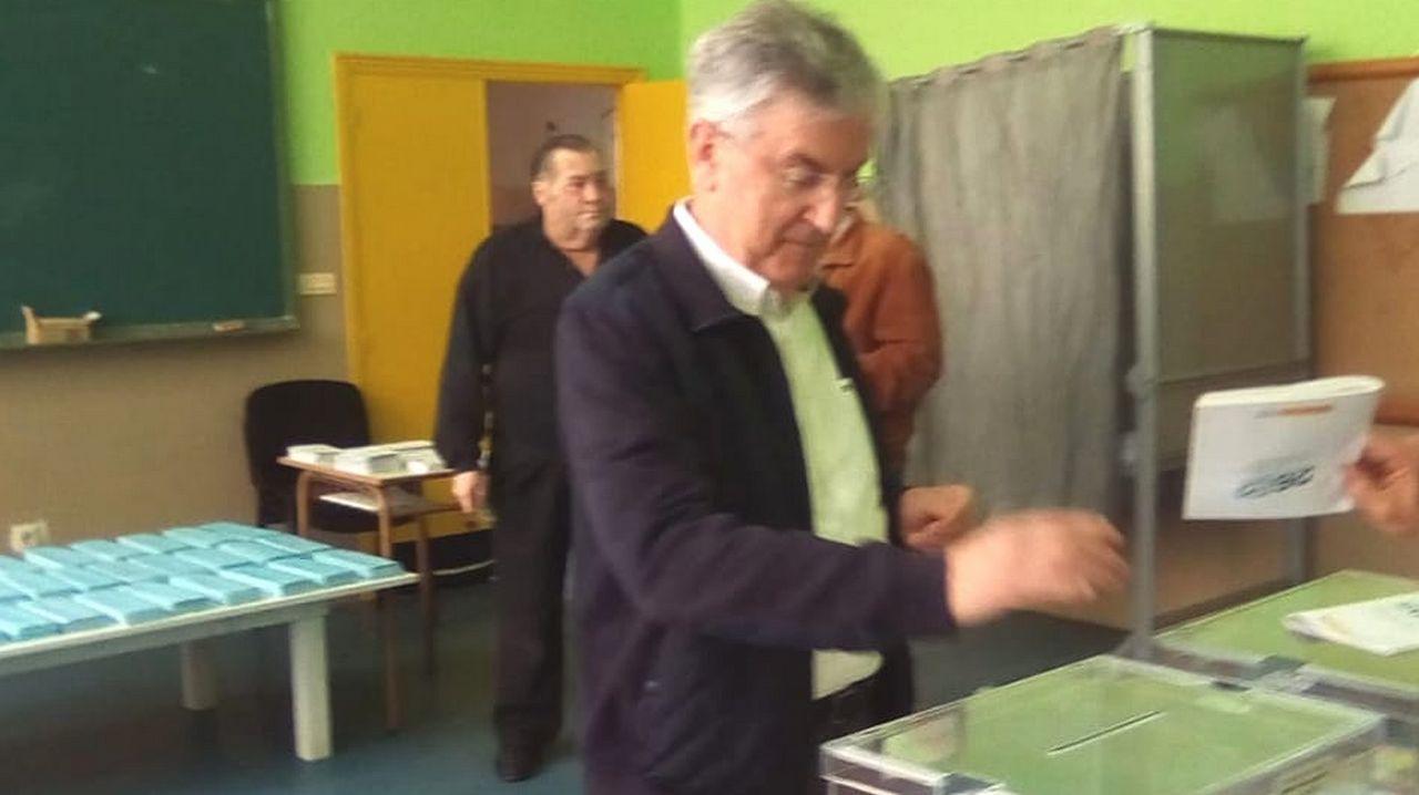 Luis Rubido, candidato del PP a la alcaldía de Cedeira