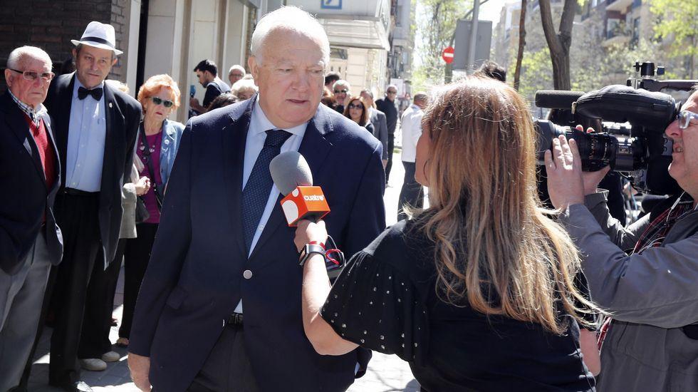 El exministro de Exteriores Miguel Ángel Moratinos