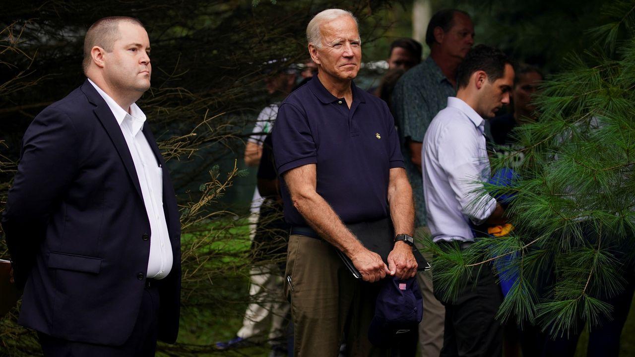 Los demócratas lanzan el proceso para el «impeachment» de Trump.Joe Biden, en una imagen de archivo