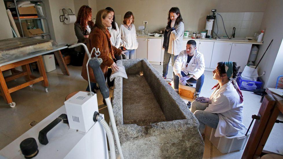 Jornada de puertas abiertas el pasado abril en la Escola Superior de Conservación e Restauración de Bens Culturais de Galicia